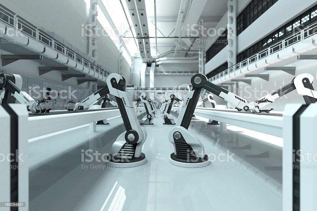 Robôs - foto de acervo