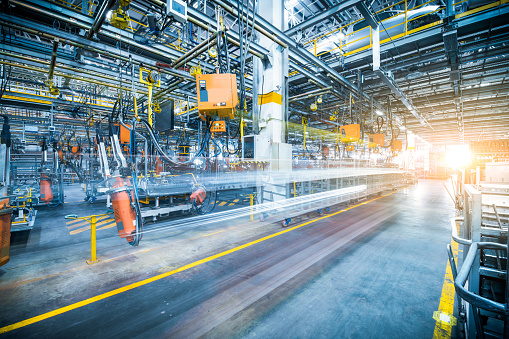 istock robots welding in a car factory 846859964