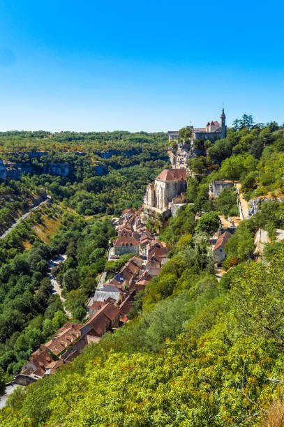 Rocamadour, Lot, France stock photo