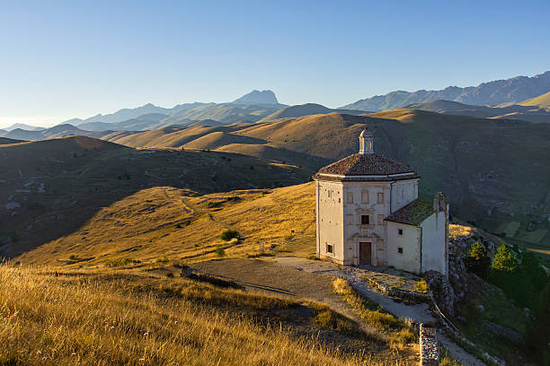 Rocca Calascio Church - foto de stock