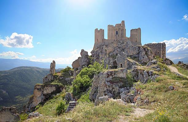 Rocca Calascio in Abbruzzen, Italien – Foto