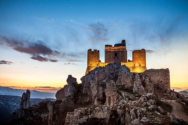 Rocca Calascio in Abbruzzen, L'Aquila Provinz Italien – Foto