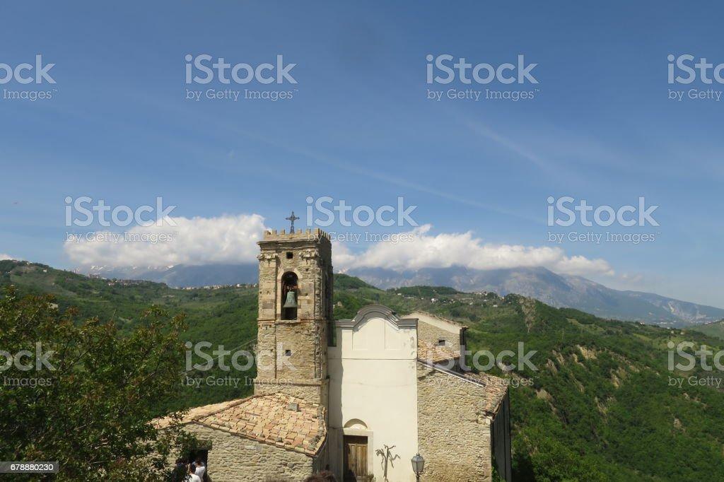 Roccascalegna royalty-free stock photo