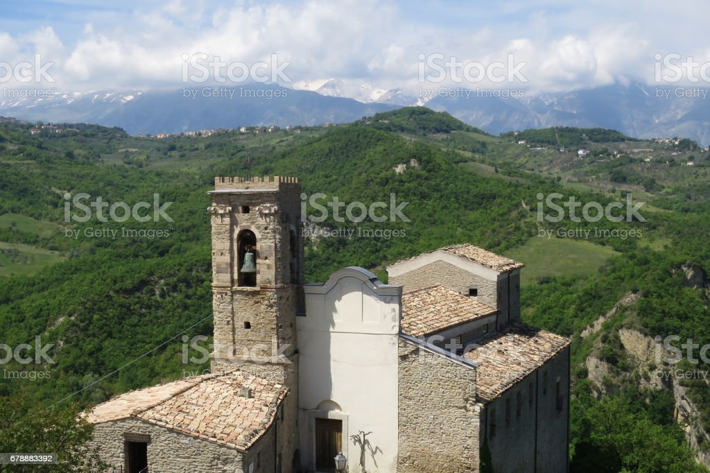 Roccascalegna royalty-free stock photo