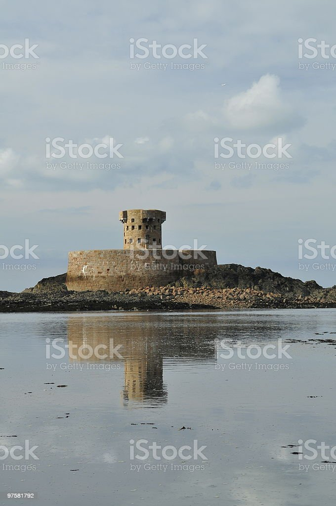 Rocco tower,St.Ouen,Jersey royalty-free stock photo
