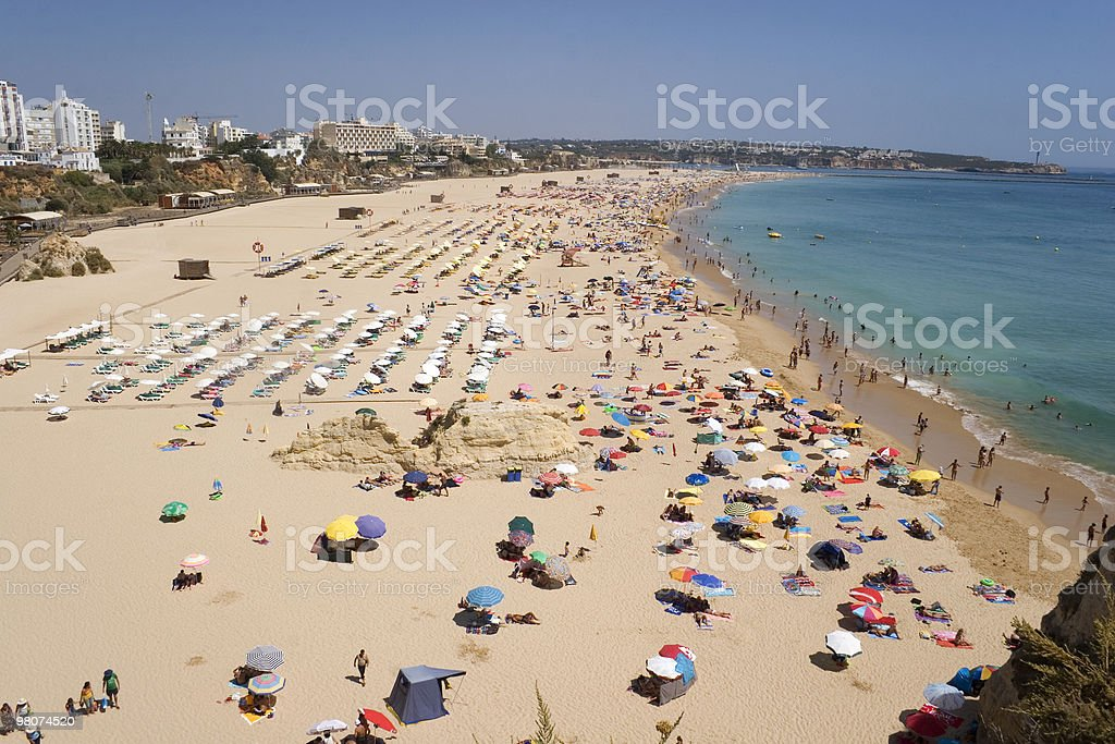 Praia da Rocha royalty-free stock photo