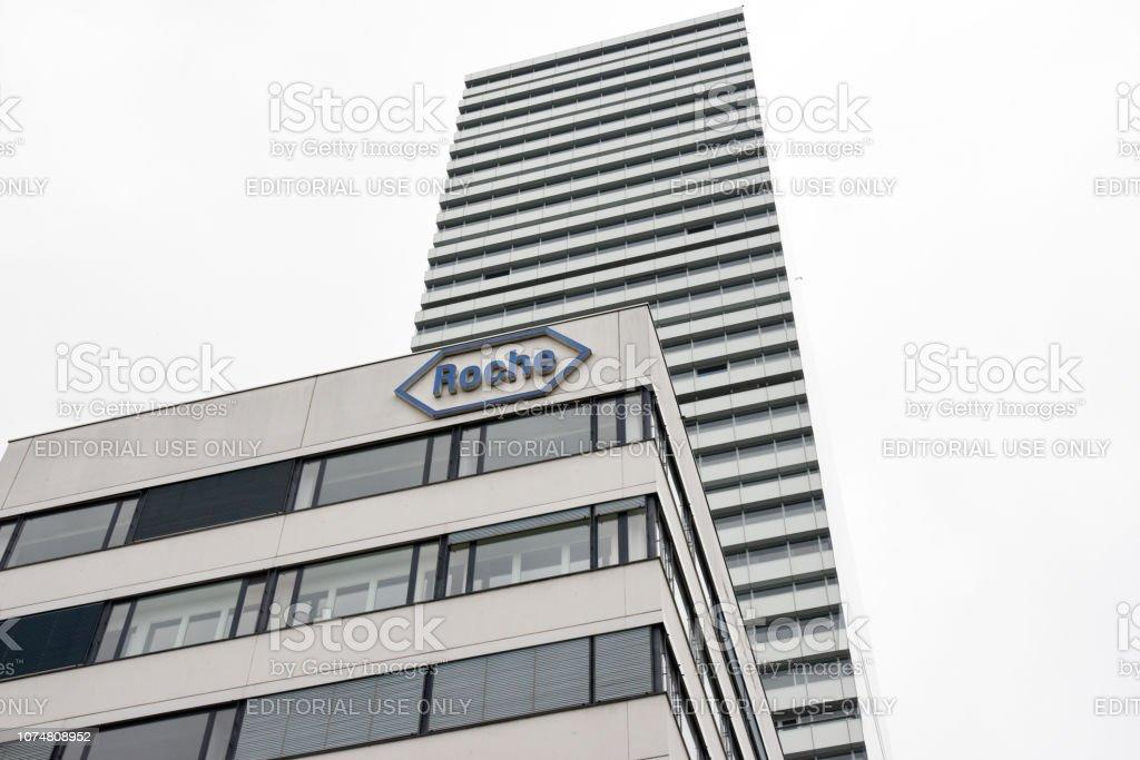 Roche Headquarters stock photo