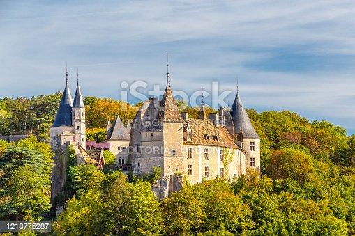 istock Rochepot Castle in Burgundy, France. 1218775287