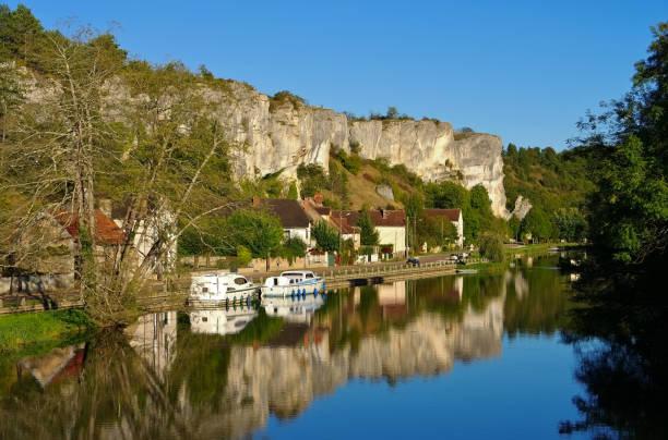 Rochers du Saussois,  Burgundy in France – Foto