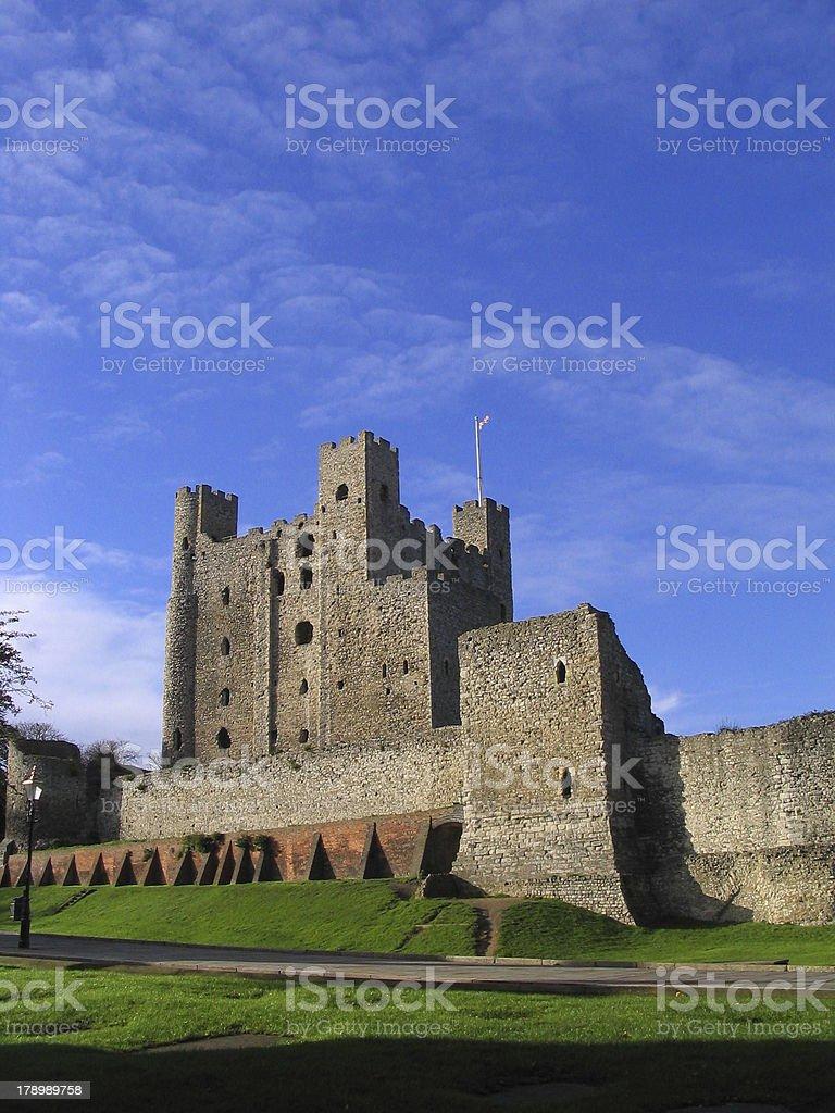 Rochester Castle, Kent, England stock photo