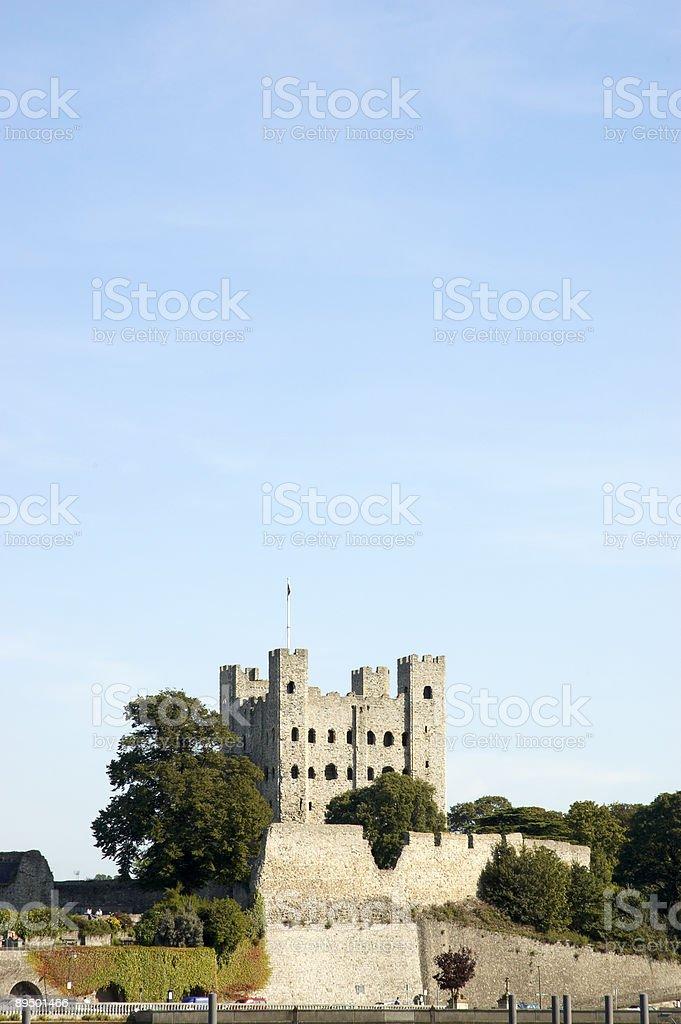 Rochester Castle royalty free stockfoto