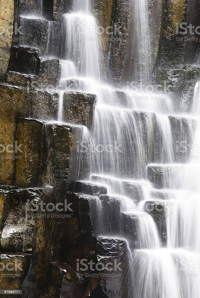 Rochester falls royalty-free stock photo
