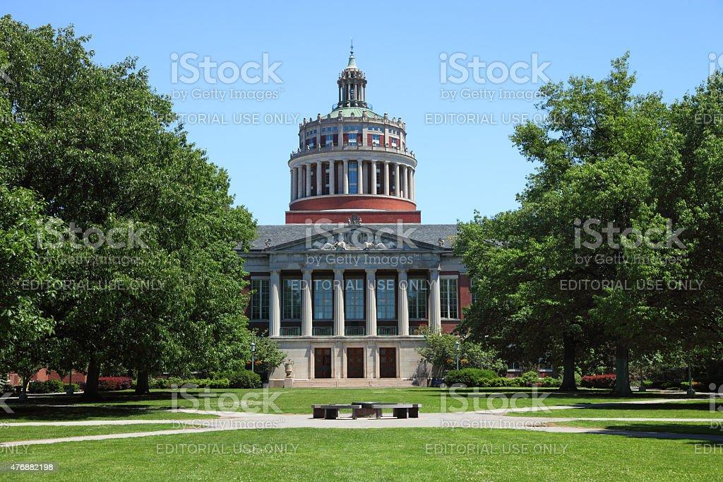 Rochester University stock photo