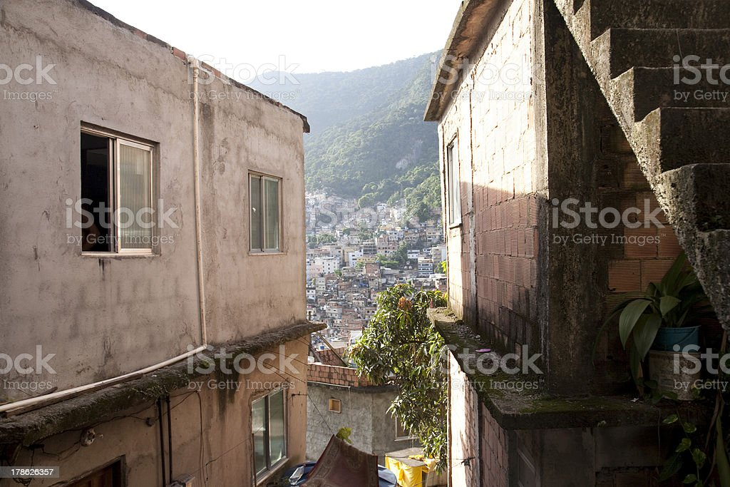 Rocinha royalty-free stock photo