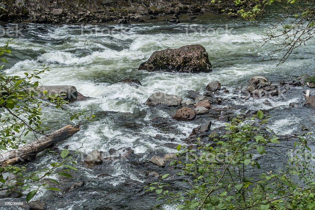 Rock y 7 Rapids foto de stock libre de derechos