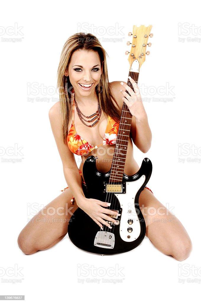 Rock and Roll Bikini royalty-free stock photo