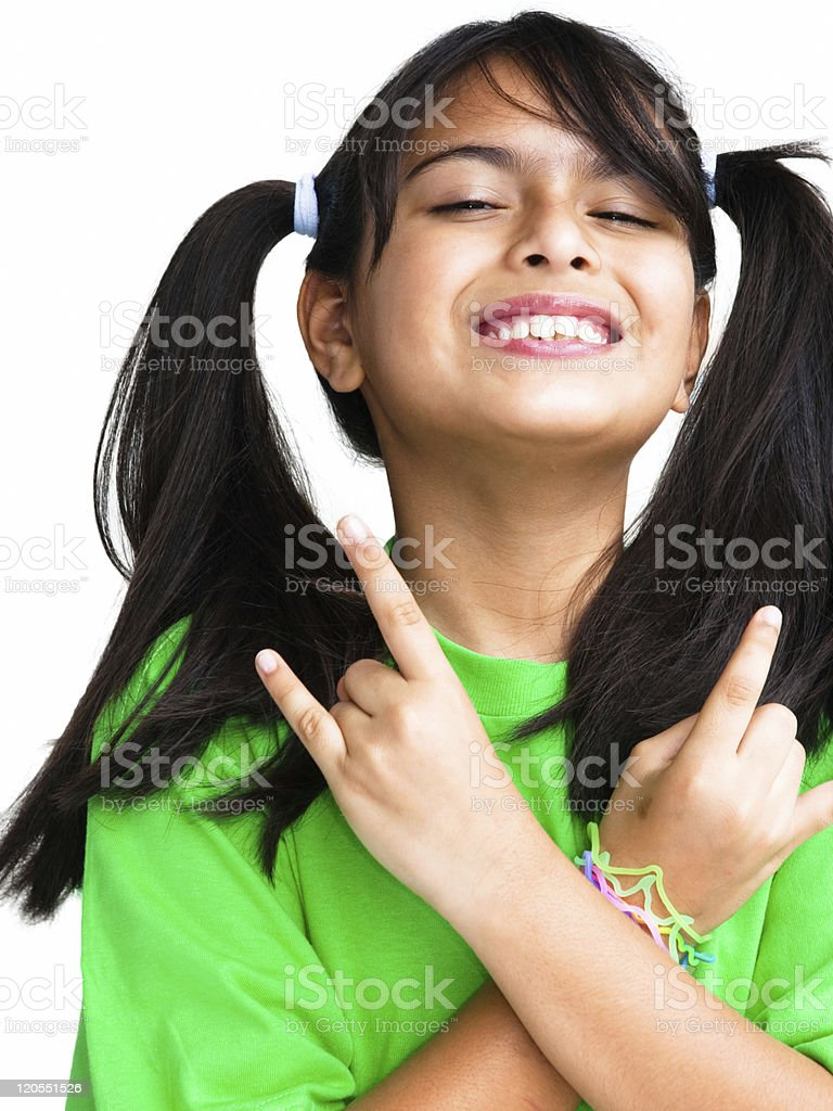 Rock and roll royalty-free stock photo