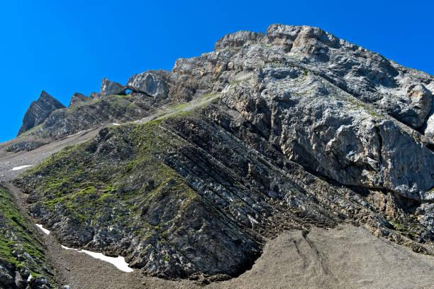 Felsenbogen Fly Hole,Haute-Savoie, Frankreich – Foto