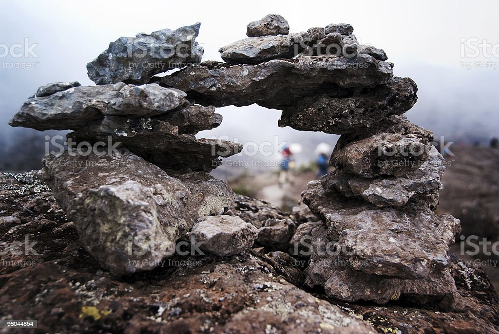 Rock Arch royalty-free stock photo
