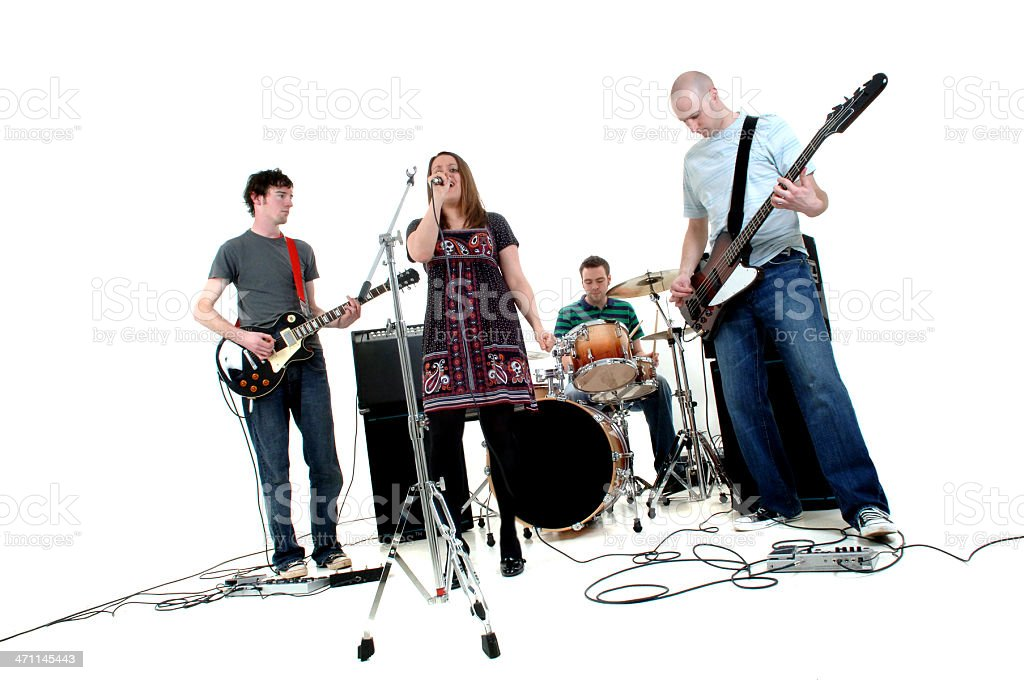 Rock Band stock photo