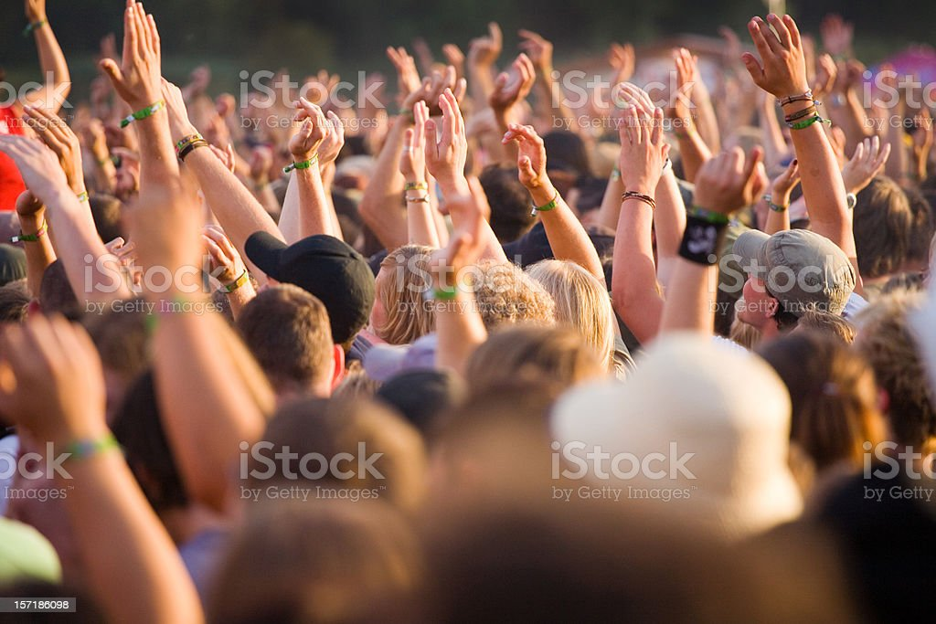 rock concert royalty-free stock photo