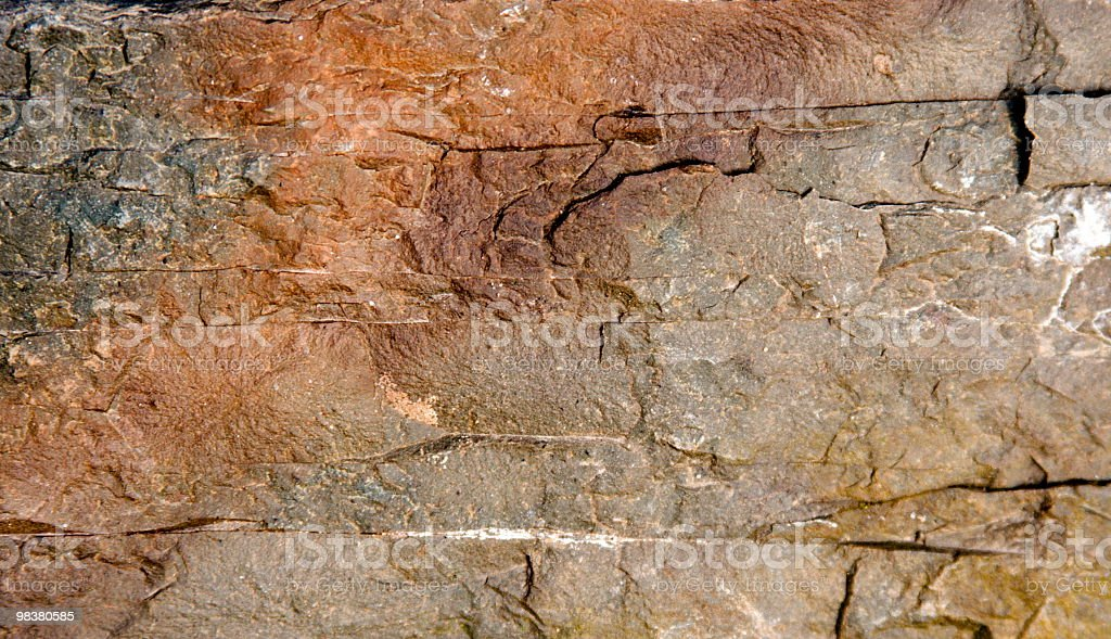Rock detail royalty-free stock photo