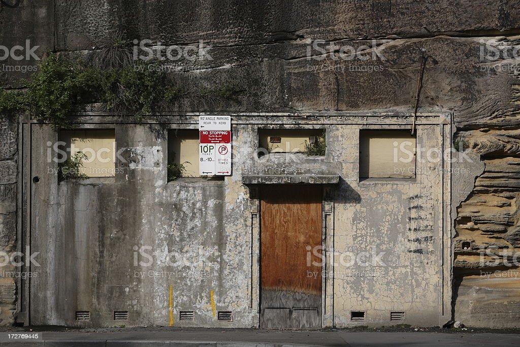 Rock Doors royalty-free stock photo