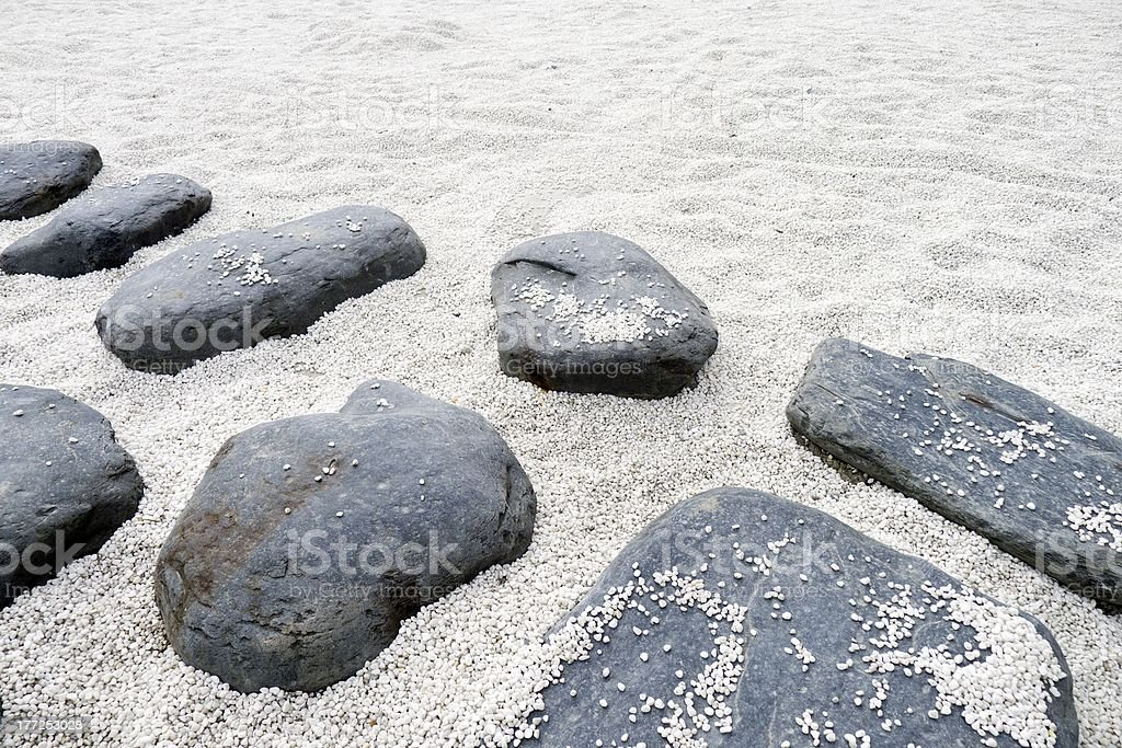 rock footpath royalty-free stock photo