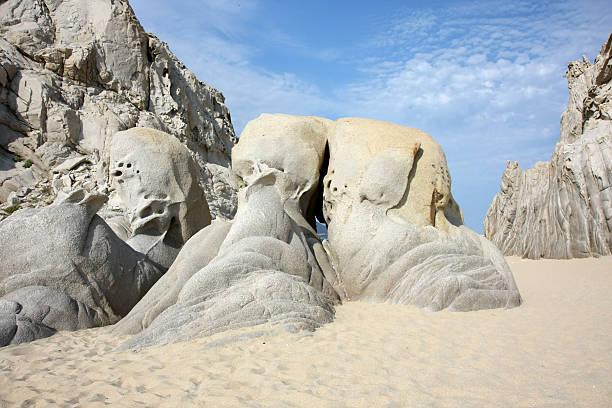 Felsformation im Lovers Beach – Foto