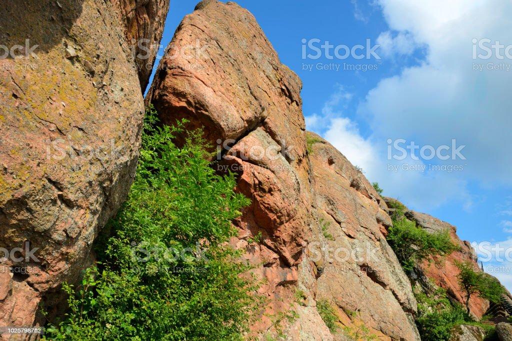 Rock formation Belogradchik Rocks stock photo