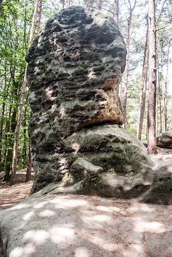 istock rock formation Obri hlava in CHKO Kokorinsko in Czech republic 1010455972
