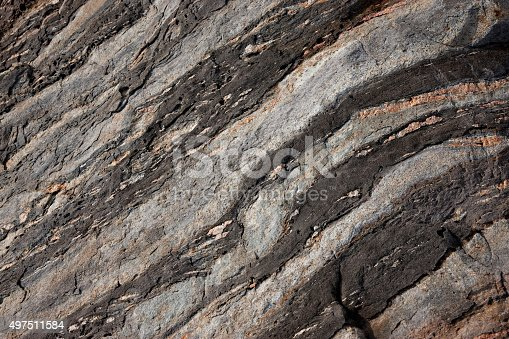 Rock formations of the Maine coast.The geologic history recorded in Maine's bedrock covers close to 1.5 billion years – approximately one-third of the total age of the Earth. Minimalist geology background.