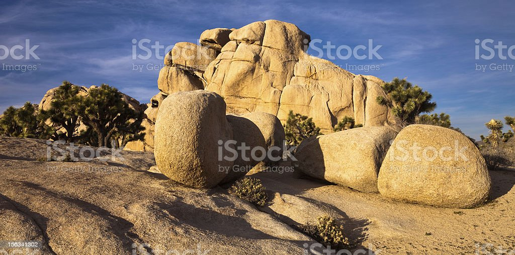 Rock Formations in Hidden Valley royalty-free stock photo