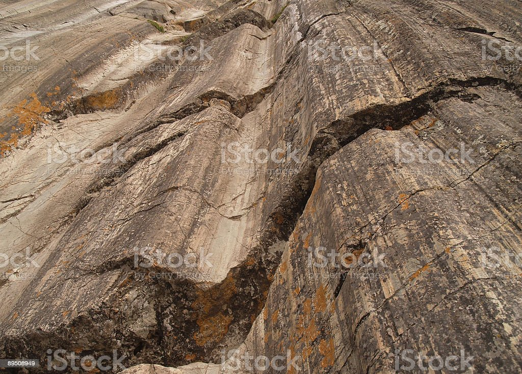 Rock formations in Sacsayhuamán, Cusco, Peru royalty-free stock photo