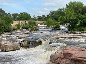 istock Rock Formations in Sioux Falls 1255422179