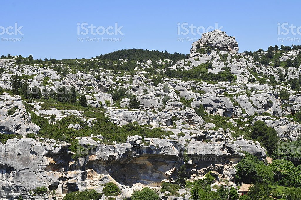 Rock formations royalty-free stock photo