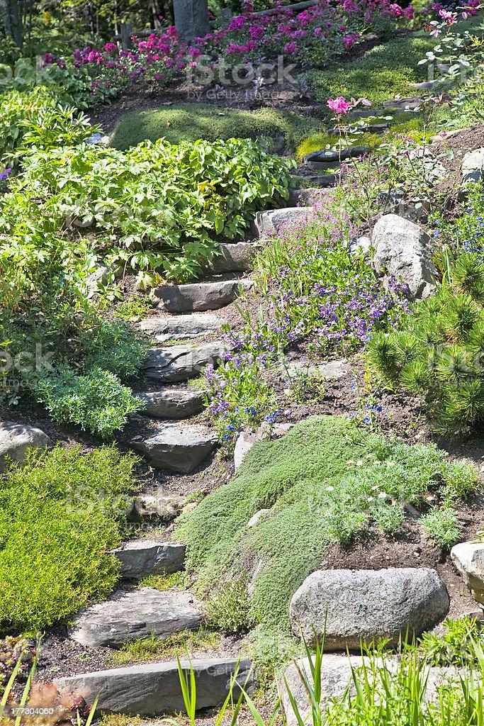 Photo libre de droit de Jardin Zen Escaliers banque d\'images et plus ...