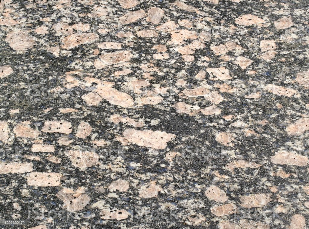 Rock Granite Of Different Colors Stock Photo - Download