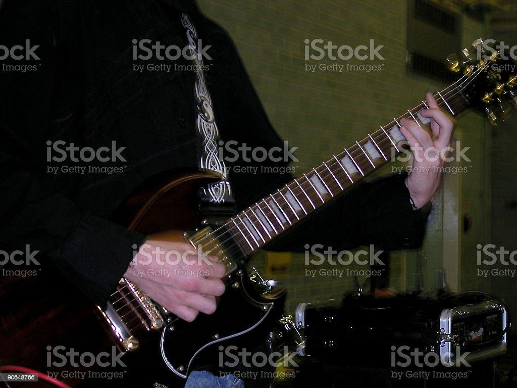 Rock Guitar stock photo