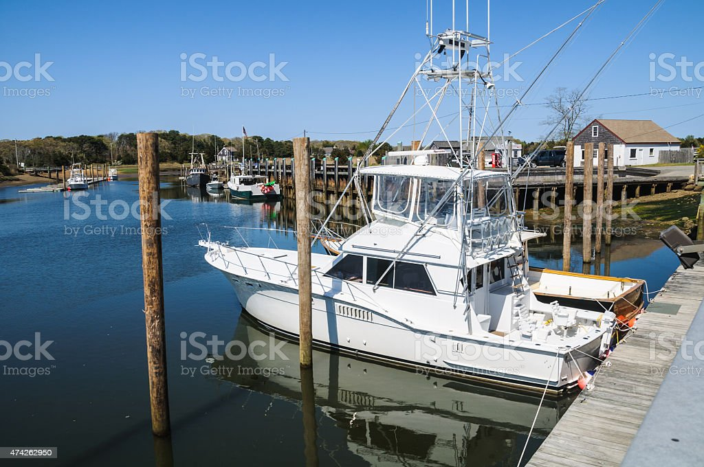 Rock Harbor stock photo