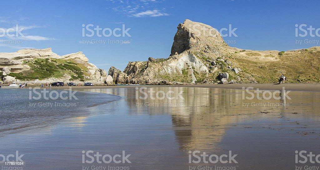 Rock Hill Beach stock photo