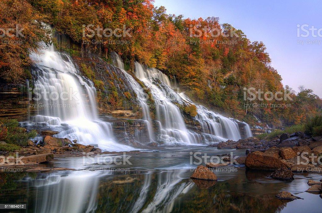Rock Island State Park stock photo