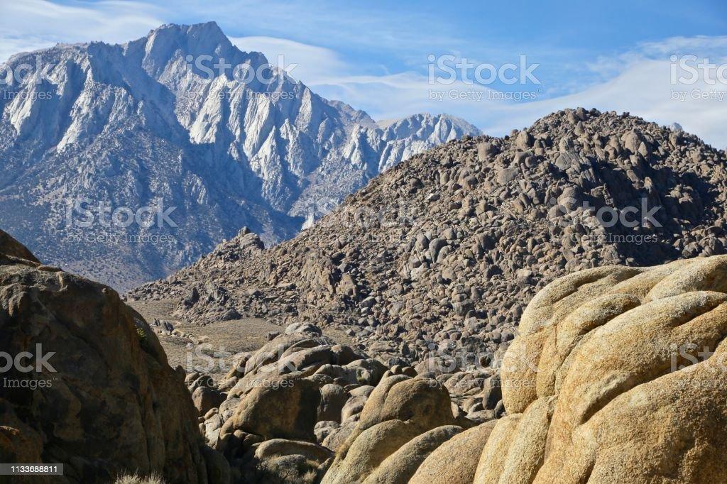 Rock Layers stock photo