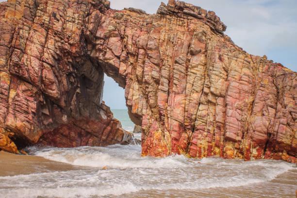 Rock Monument - Pedra Furada - Jericoacoara - Ceará - Brazil