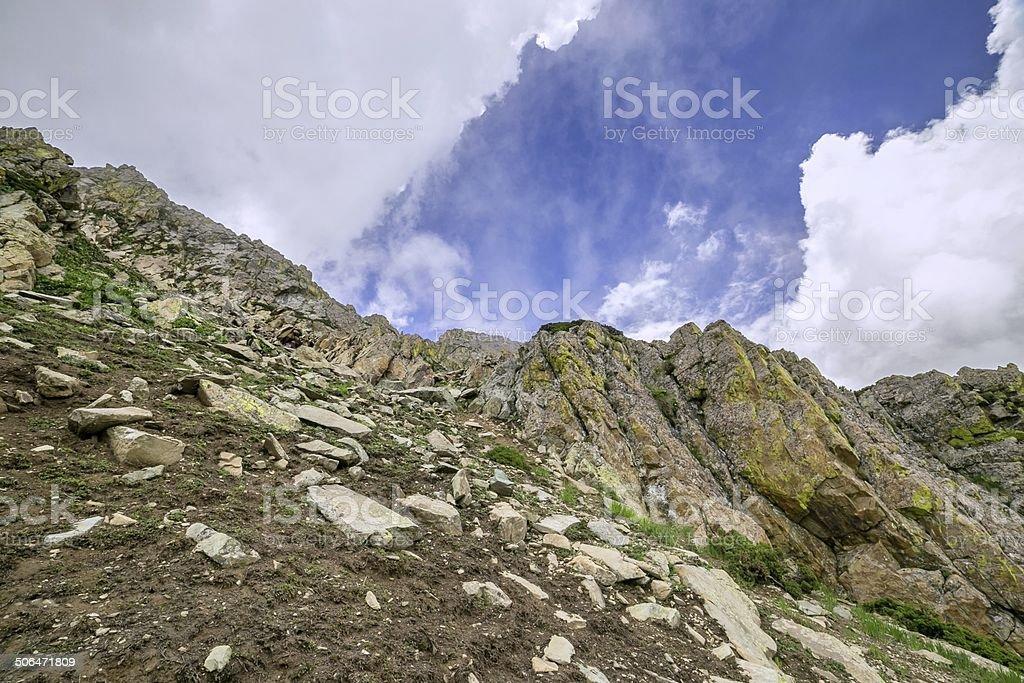Rock Mountain stock photo