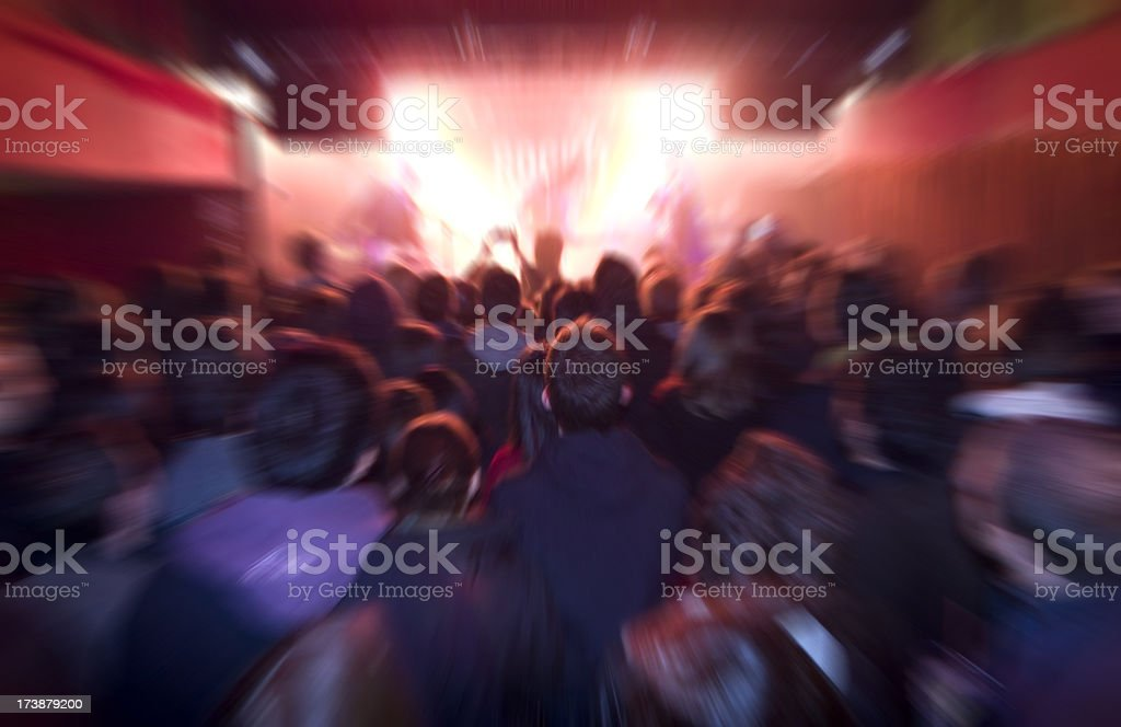 rock music concert royalty-free stock photo