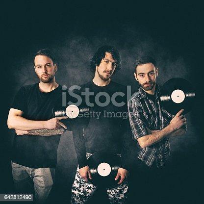 istock Rock Musicians portrait 642812490