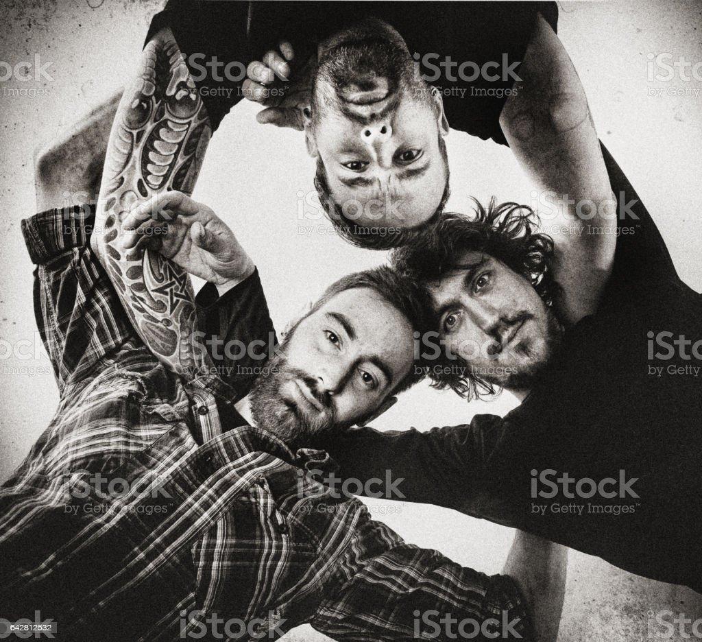 Rock-Musiker-Porträt – Foto