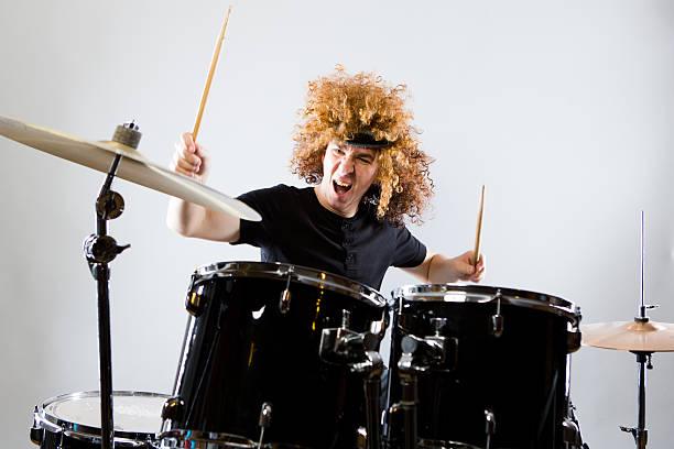 Rock ' n Roll Baterista - foto de acervo