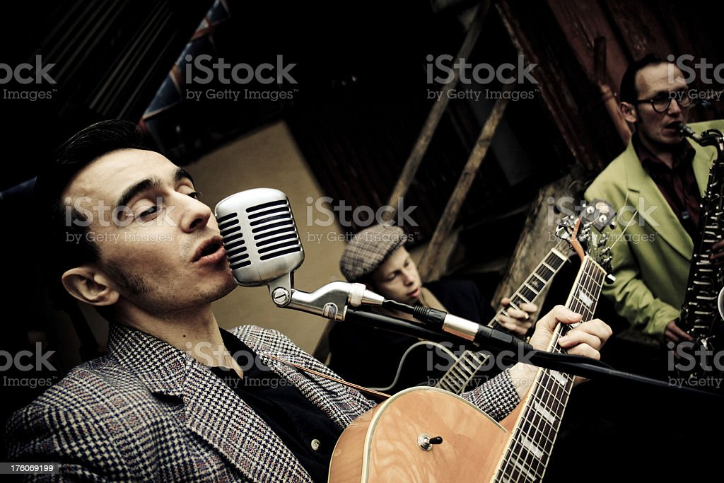 Rock 'n' roll in the open air stock photo